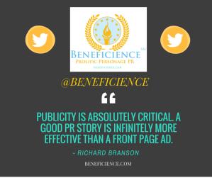 Follow @beneficience on twitter today!