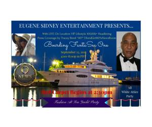 The Hollywood Event of The Marina Del Rey, CA Summer: Eugene Sidney's