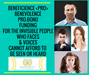 BENEFICIENCE -PRO- for the voiceless