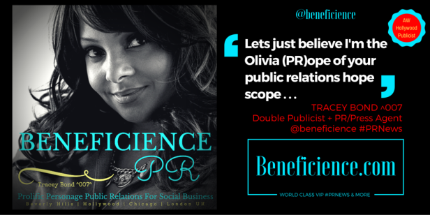 Tracey Bond, Publicist at Beneficience.com