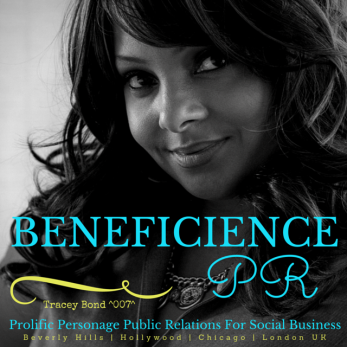 BENEFICIENCE PR WONDERFULL WALL STREET PROMO featuring Tracey Bond 007 Publicist