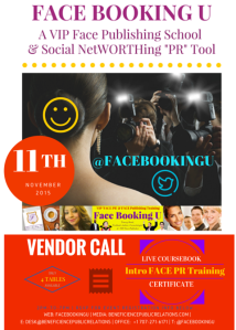 Face Booking U- VENDOR CALL at FaceBookingU.com