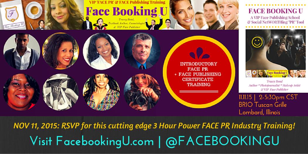 Visit FacebookingU.com –@FACEBOOKINGU