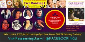 Visit FacebookingU.com - @FACEBOOKINGU