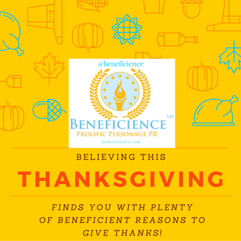 Beneficience PR Thanksgiving