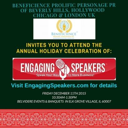 EngagingSpeakersHolidayCelebrationInvitation-eDesignandPRbyBeneficience.com
