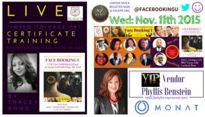 INTROTOFACEPR Certificate Event Nov. 11th Announcement  of VIP Vendor Phyllis Benstein - MONAT - FacePr.Org