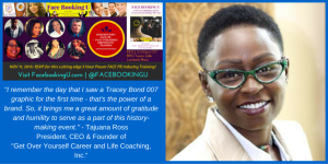 "Face Booking U Welcomes Tajuana Ross known as ""The LinkedIn Professor"" to Nov.11th FACE PR Panel"