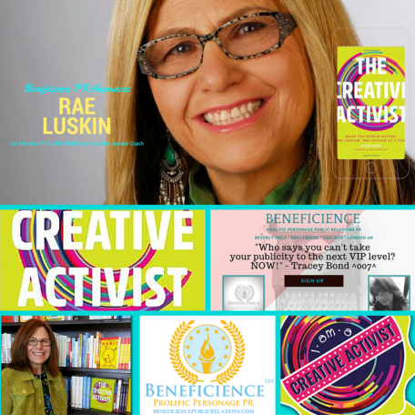 Beneficience PR Announces & Welcomes PR STAR Celebrity Client Rae Luskin