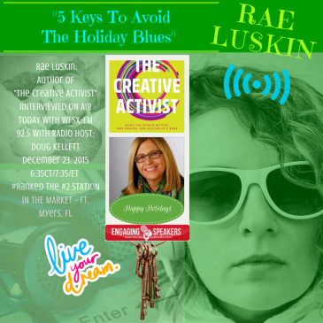 Beneficience PR STAR Celebrity Client Rae Luskin ON AIR - WSFZ-FM 92.5 Interview with Doug Kellett, Ft. Myers, FL