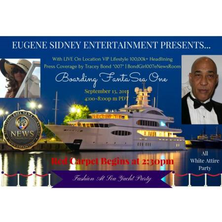 Fashion On The Sea - Eugene Sidney - BondGirl007PenTerprises.com #BondGirl007eNewsRoom