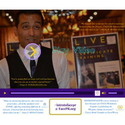 #IntroToFacePR Certificate Training Teaser Trailer Video - FacePR.org
