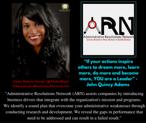 --Alisha Roberts-Novak ARN - Another Social business quotable 4-8-16 - ePRessed at Beneficience.com PR