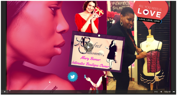 BENEFICIENCE VIDEO Celebrating LOVE every month & the SKIN you're IN at Ms. Mary s A Perfect Silhouette...