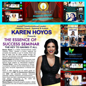 Karen Hoyos and Tracey Bond, PhJrn-Publicist Share -The Essence Of Success Webinar May 2nd 2016 on SPEAKINTOTHE PODLIGHT PRodcast Show on episode
