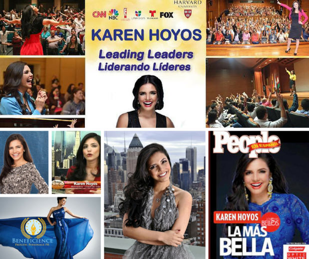 Karen Hoyos - Global Transformational Leader Celebrity Coach - Speaker & Author at Beneficience PR - Graphic Image eDesigned By Tracey Bond BondGirl007PenTerprises.com for Beneficience.com PR Elite Social Busines