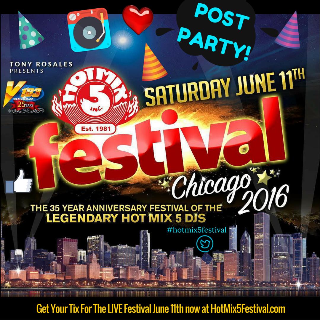HotMix5festival Postparty!