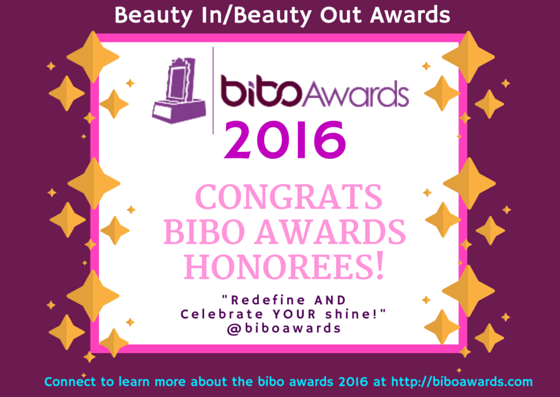 CONGRATS BIBO AWARDS HONOREES! Beneficience.com Prolific Personage PR of Beverly Hills Hollywood Chicago New York Canada and London UK