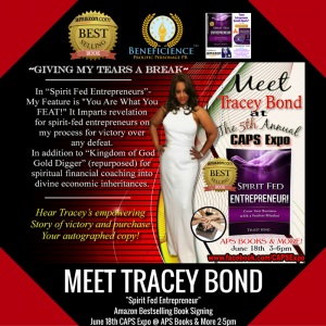 Meet Tracey Bond Spirit Fed Entrepreneur Book Signing CAPS 5th Annual Expos – APS Books & more Ford City MallChicago