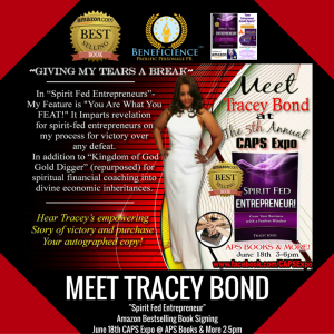 Meet Tracey Bond Spirit Fed Entrepreneur Book Signing CAPS 5th Annual Expos - APS Books & more Ford City Mall Chicago