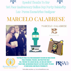 beneficience-com-super-pr-stars-online-day-party-celebrity-lux-purse-eccentrics-sponsor-marcelo-calabrese-beneficienceprstar-posts-2016