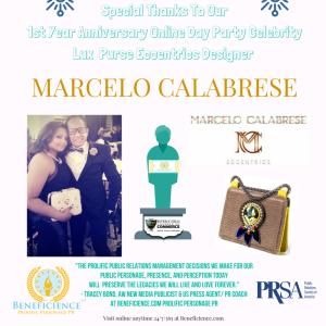 beneficience-com-super-pr-stars-online-day-party-celebrity-lux-purse-eccentrics-sponsor-marcelo-calabrese-beneficienceprstar-posts-2016