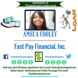 ameca-cooley-fast-pay-financial-executive-book-your-quick-30-minute-appointment-beneficience-com-prolific-personage-pr-social-graphic-edesign-epressed-by-tracey-bond-007-bondgirl007penterprises-com