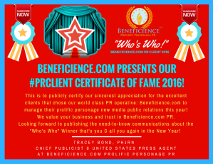 beneficience-com-pr-presents-our-pr-client-certificates-of-fame-2016