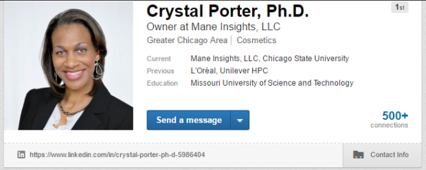 linkedin-crystal-porter-phd-screenshot