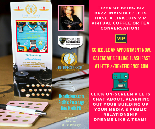 Beneficience.com PR Social Media Spring Summer 2017 Virtual Coffee Tea Chat Communication