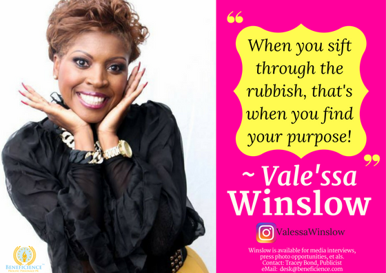Valessa Winslow on Instagram – Authorquotes on purpose Vale'ssa Winslow is available for media interviews and press opportunities & more at email desk@beneficience.com