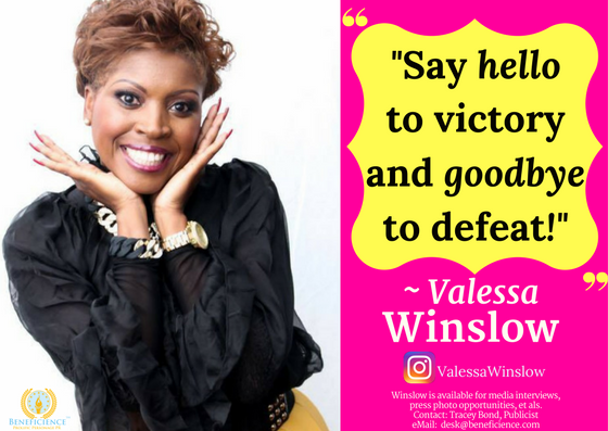 Valessa Winslow on Instagram - Inspire2BTransformedAuthorquotes on purpose Valessa Winslow is available for media interviews and press opportunities & more at email desk@beneficience.com