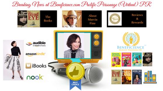 For Immediate Release Breaking News_ Multi Award Winning Author Marcia Fine Beneficience.com VirtualPR
