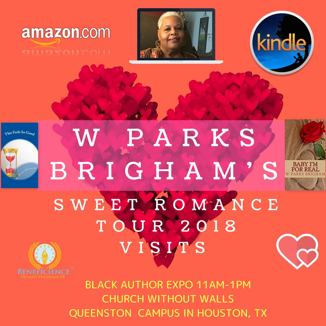 W Parks Brigham Sweet Romance Tour 2018Visits